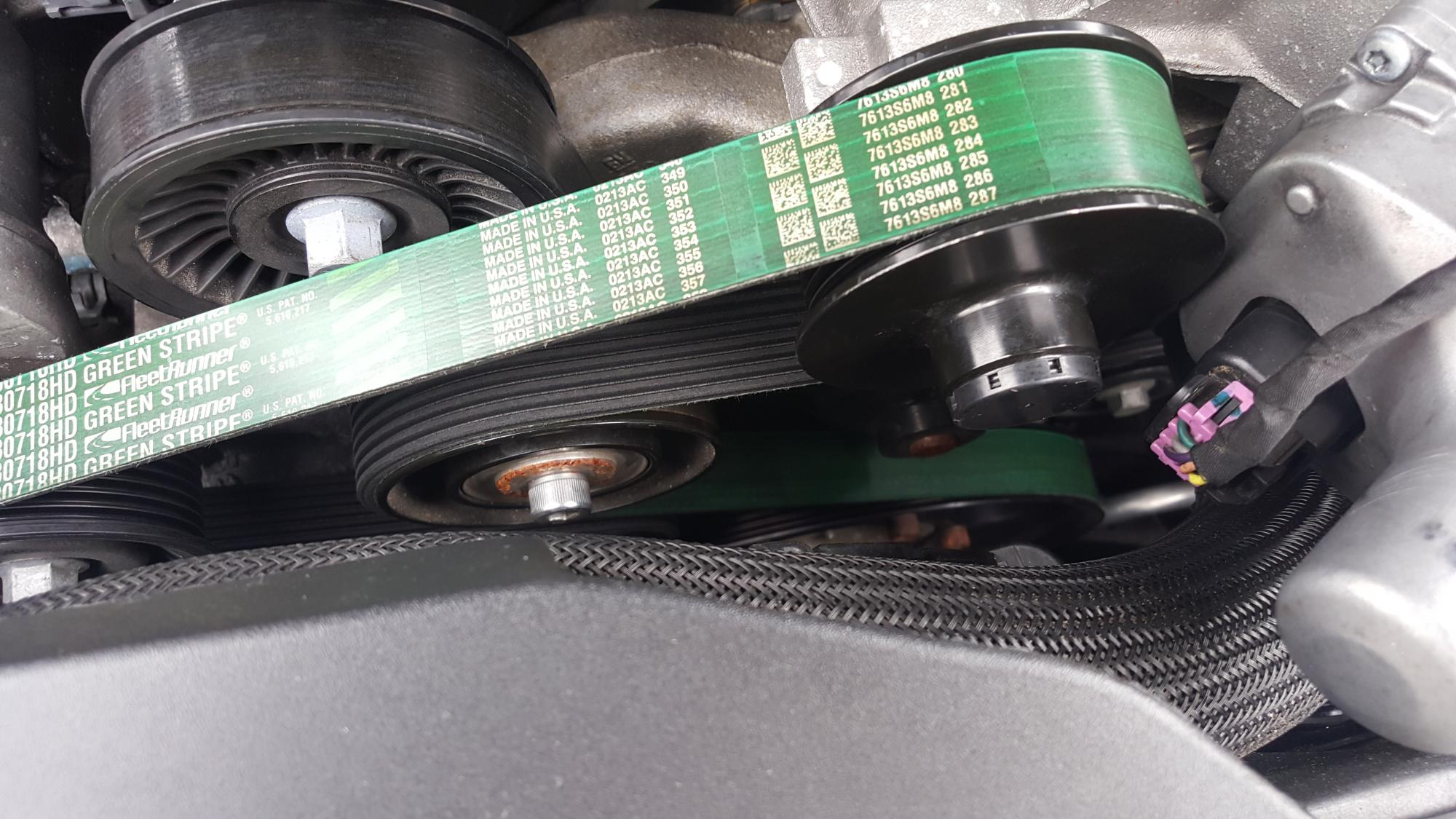 A very detailed CTS-V Belt and Pulley Combo Size Guide with Part Numbers-uploadfromtaptalk1454610090577.jpg